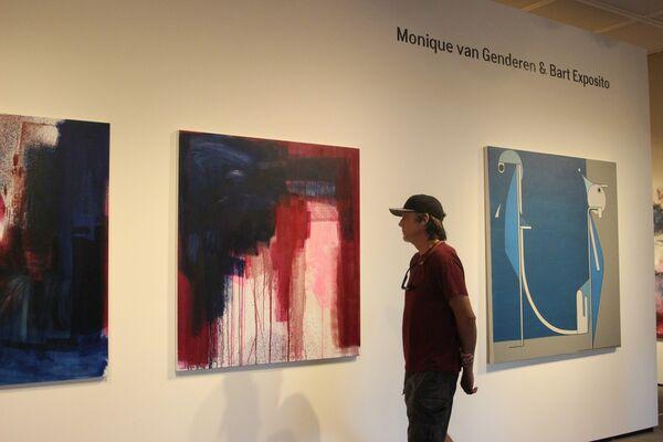 Monique van Genderen & Bart Exposito, installation view