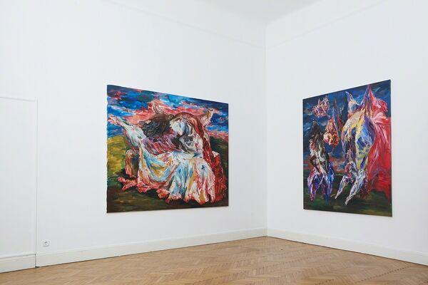 Glaze and Gut, installation view