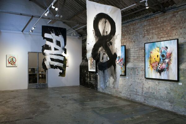 Meggs 'Rise & Fall', installation view