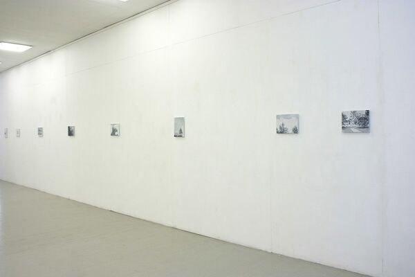 ATTACHMENTS. TWO PLACES by Milda Gailiūtė, installation view