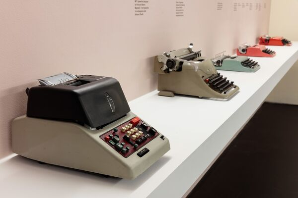 Olivetti: Beyond Form and Function, installation view