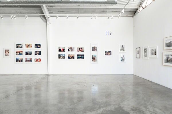 WE, installation view