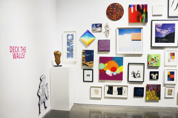 Deck the Walls! - Group Exhibition, installation view