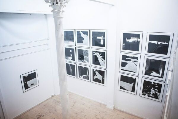 Nassouh Zaghlouleh   Un jour syrien ordinaire, installation view