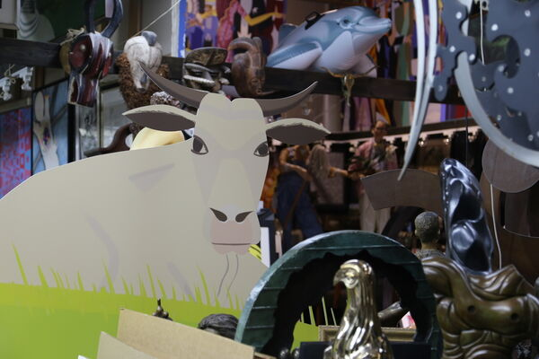 July Fine Art Auction, installation view