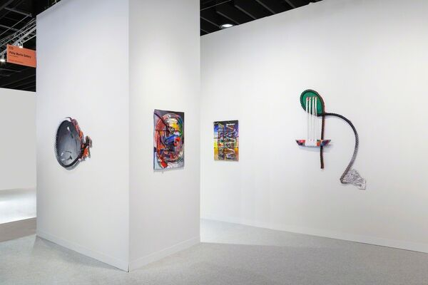 Philip Martin Gallery at The Armory Show 2019, installation view