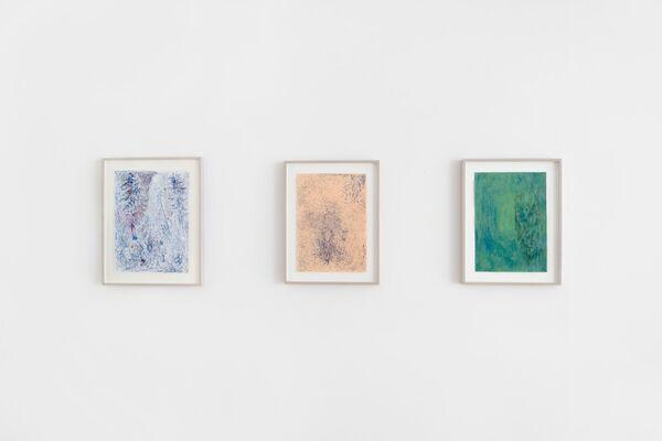 Kai Althoff / Lutz Braun / Cédric Eisenring / Anne Rößner, installation view
