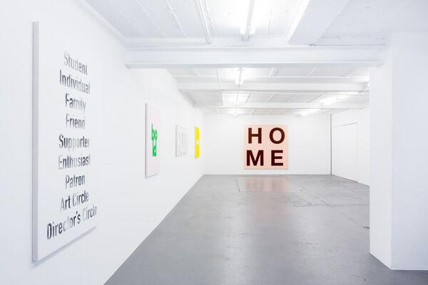 Christian Robert-Tissot, installation view