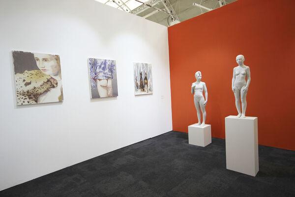 bo.lee gallery at London Art Fair 2020, installation view