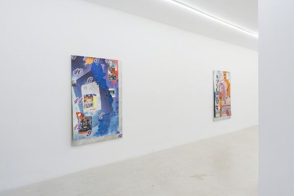 CARTER MULL - Televisuality, installation view