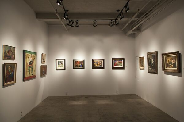 Social Art In America: Then and Now, installation view
