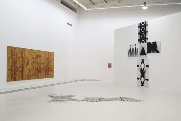"THE BEING OF NON-BEING:A KIND OF PERSONAL EXPRESSION ON ""META-PAINTING"", installation view"