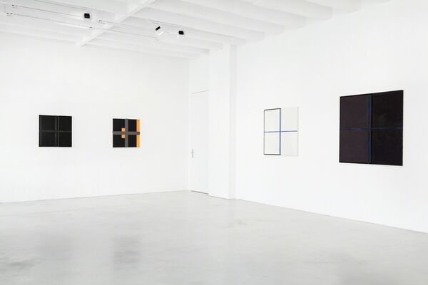 Harvey Quaytman: Fool's Gold - Pirate, Paintings from the Eighties, installation view