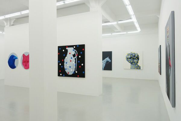 IN THE LOOP, installation view