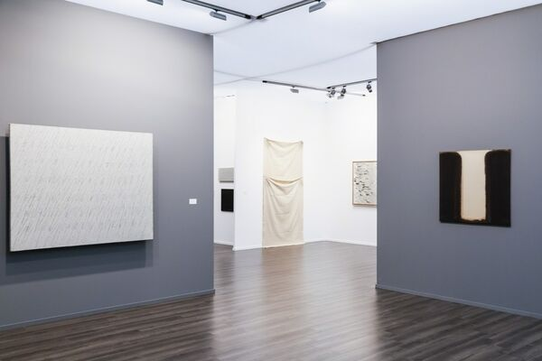 Tina Kim Gallery at Frieze Masters 2016, installation view