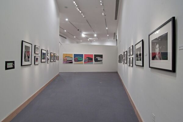 Bob Colacello: In and Out with Andy, installation view
