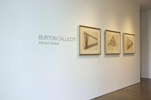 BURTON CALLICOTT, installation view