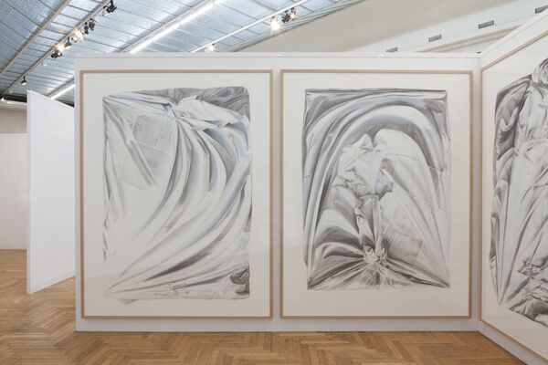 Tatjana Pieters at Art On Paper, the Brussels Contemporary Drawing Fair 2018, installation view