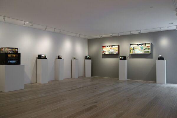 Alan Wolfson: New York Nocturnes, installation view