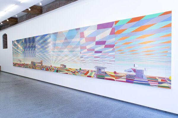 Greg Drasler Road Trip, installation view