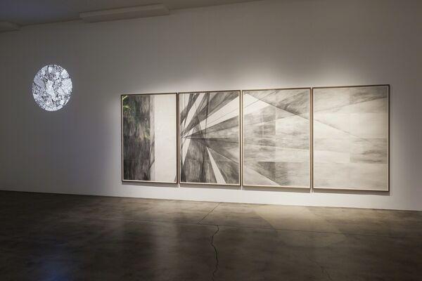 Aether & Einstein, installation view