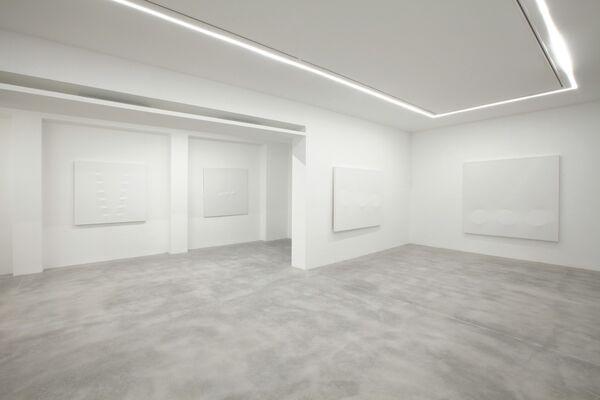 TURI SIMETI. White Paintings, installation view