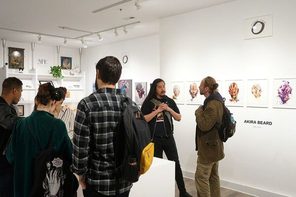Circles: A Creative Journey Into the Human Condition, installation view