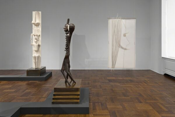 """Enrico David"", installation view"
