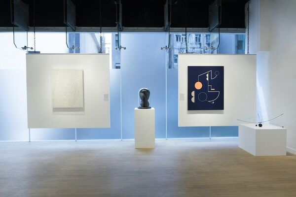Reflections, installation view