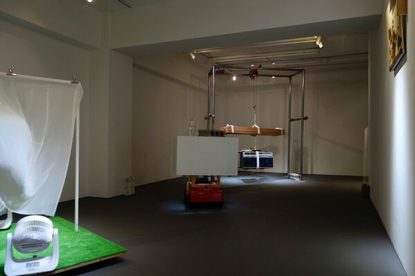 """""""Examples"""" by yang02, installation view"""