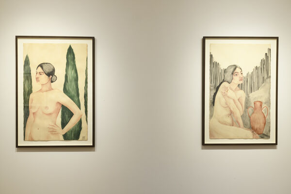 Alisha Sofia | Queens of the Caucasus, installation view