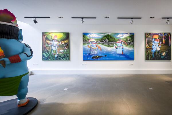 Amazonian Diet, installation view