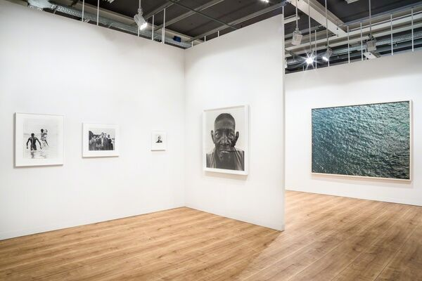 Pace/MacGill Gallery at Art Basel 2016, installation view
