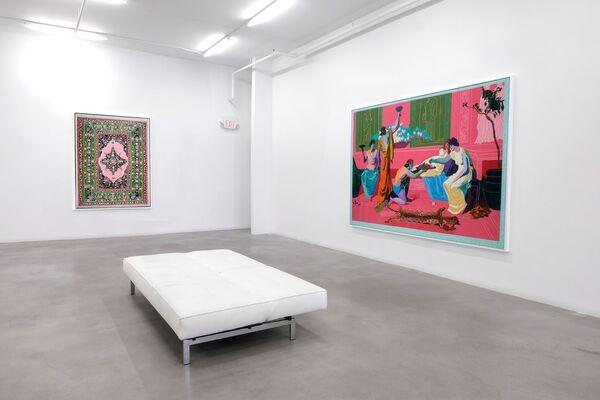 Winsor Gallery at Art Toronto 2016, installation view