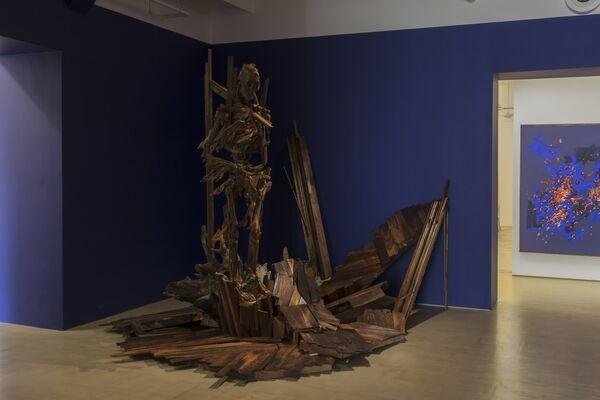 Wim Botha: Still Life with Flowers, installation view