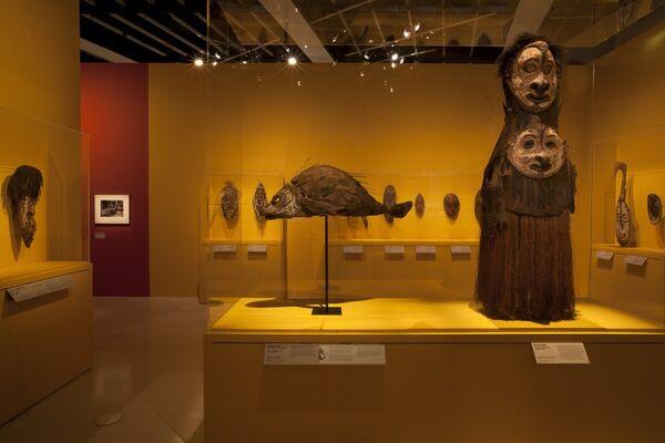Sepik: Arts in Papua New Guinea, installation view