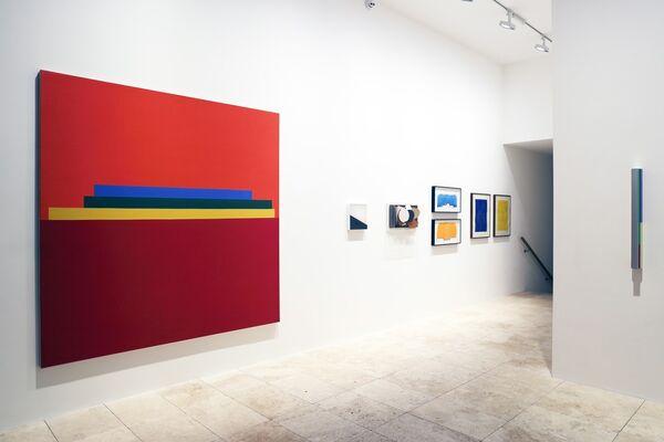 Caro, Denny, Smith, Vaux, installation view