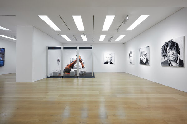 Rob and Nick Carter: Dark Factory Portraits, installation view