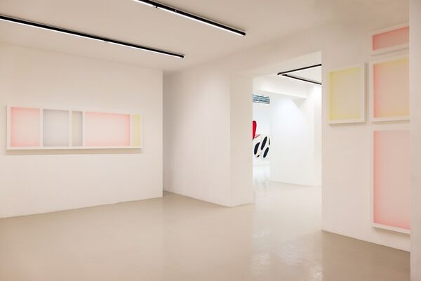 """James English Leary """"The Bursting Grape"""", installation view"""
