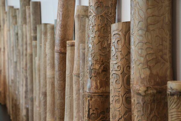 Bamboo Road: Tel Aviv - Manila, installation view