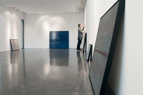 "Pat Service: ""Round About Midnight"", installation view"