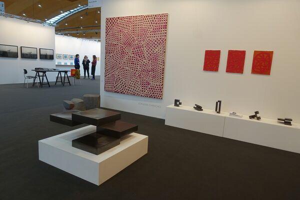 Galerie Floss & Schultz  at art KARLSRUHE 2018, installation view