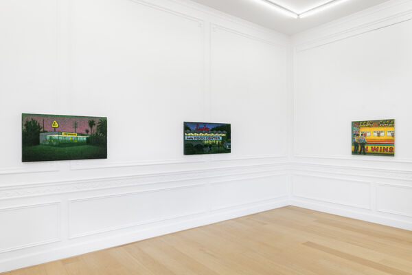 Lucky Food, installation view