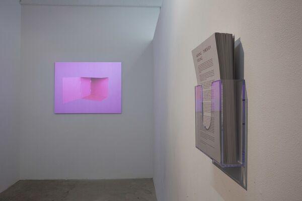 ALINA TENSER: Reading Room, installation view