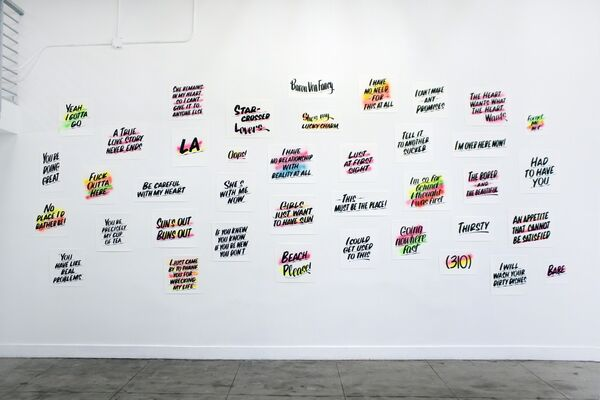 BARON VON FANCY, I'm Over Here Now!, installation view
