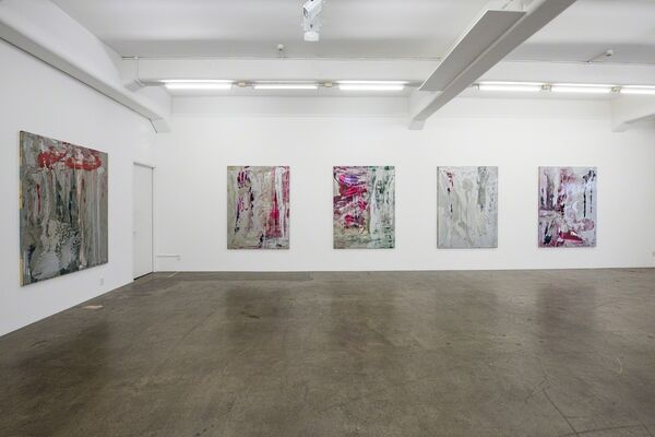 Dale Frank, installation view