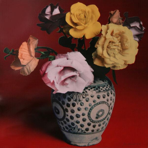 Francesco Scavullo, 'Flower Arrangement (Red)', 1987