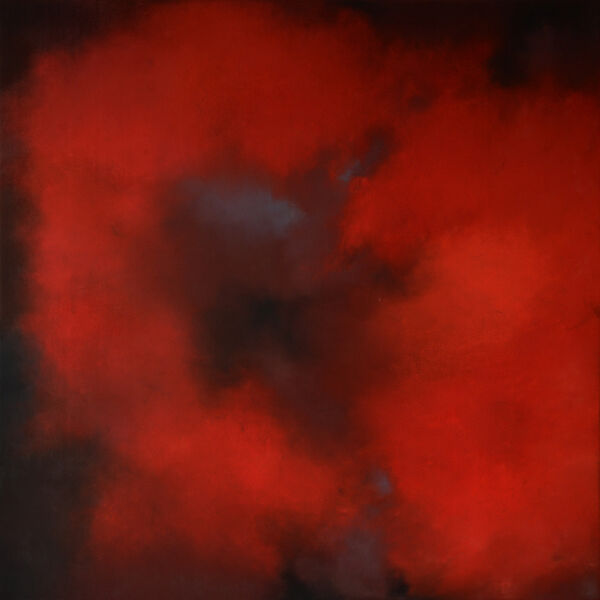 "Kerstin Piallard, '""Red Blossom""', 2018"