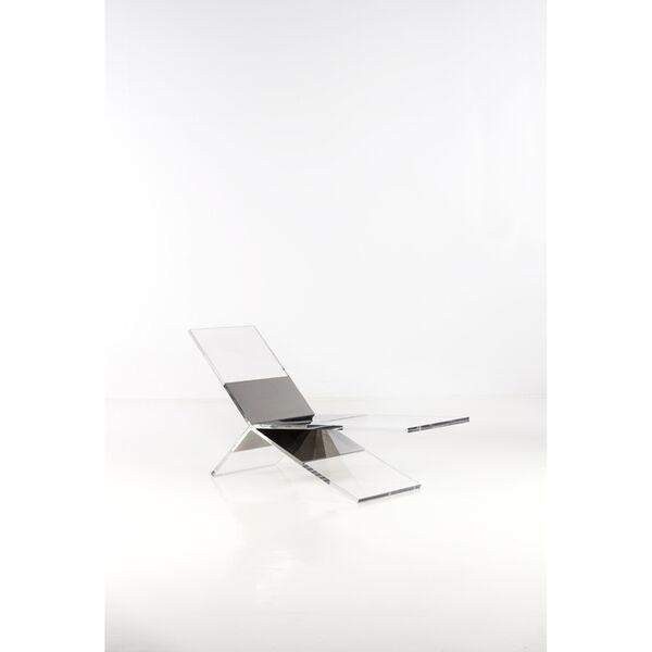 François Arnal, 'Inox - Prototype - Lounge chair'