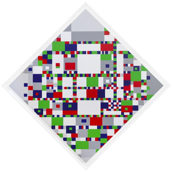 General Idea, 'Infe©ted Mondrian #11', 1994/2019